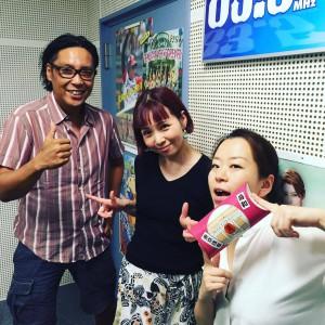 2016,8.13FM宝塚野上こうへいさんと