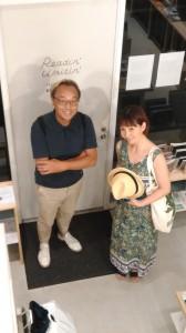落合さんとわたしとぐっさん@浅草Readin'Writin'Bookstore1