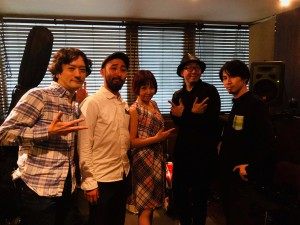 年内最後のフルバンド編成集合写真@渋谷スタジオ2018.11.28