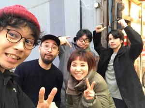 みやけんさんとわたしたち録音休憩中@船橋スタジオ2020.2.14